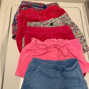 Other - Lot of girls size 4/5 shorts